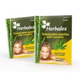 Herbalex Plastry oczyszczające z konopiami 2szt.